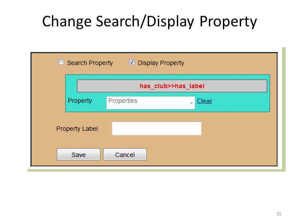 Change Search/Display Property 35