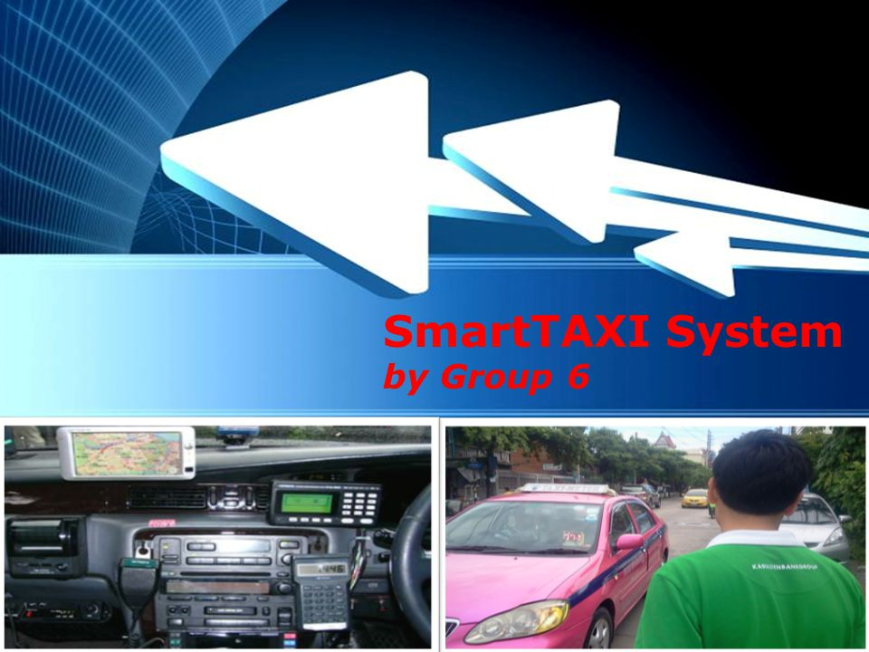 Powerpoint Templates Page 1 Powerpoint Templates SmartTAXI System by Group 6