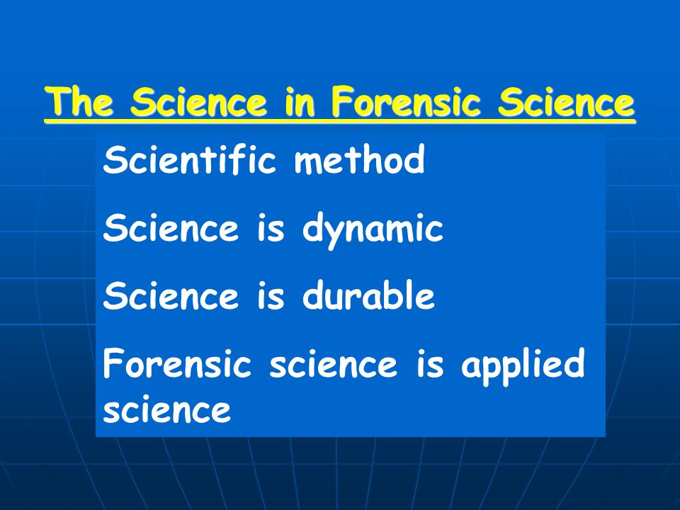 Good Forensic Practitioners Good Laboratory Practice (ISO 17025) Good Forensic Practice