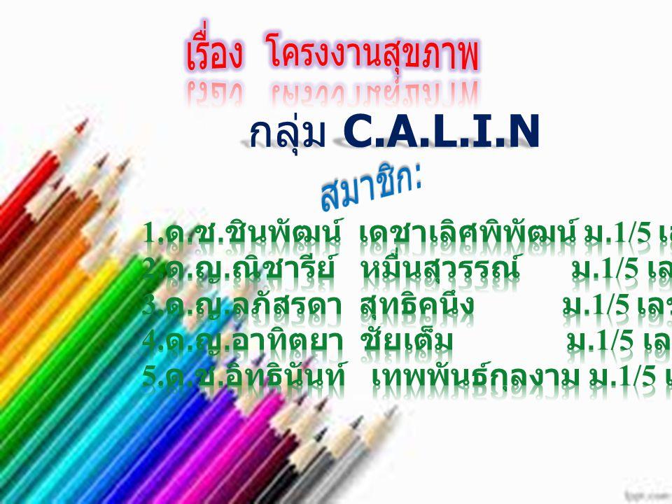 กลุ่ม C.A.L.I.N