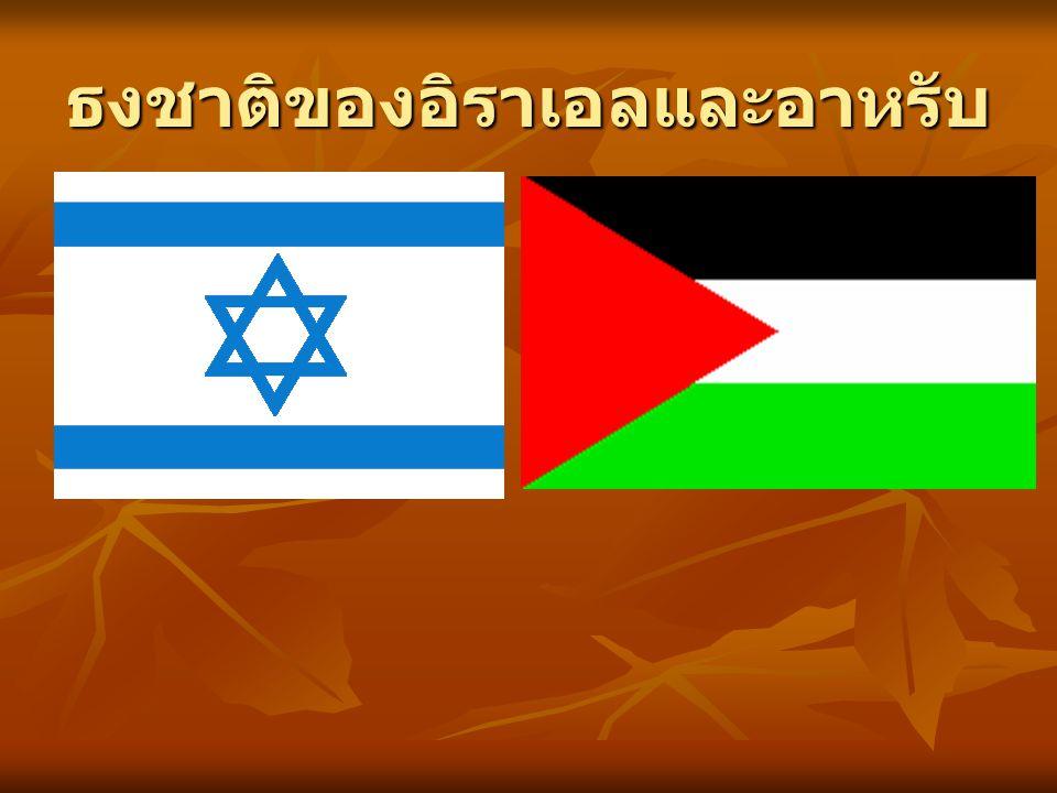 ธงชาติของอิราเอลและอาหรับ