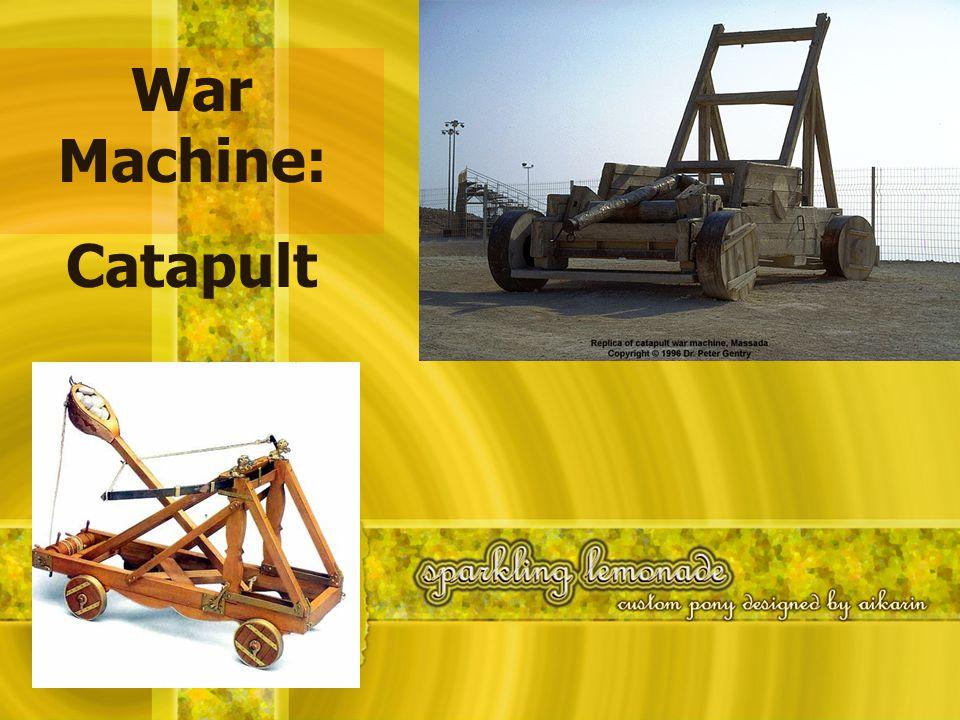 War Machine: Catapult