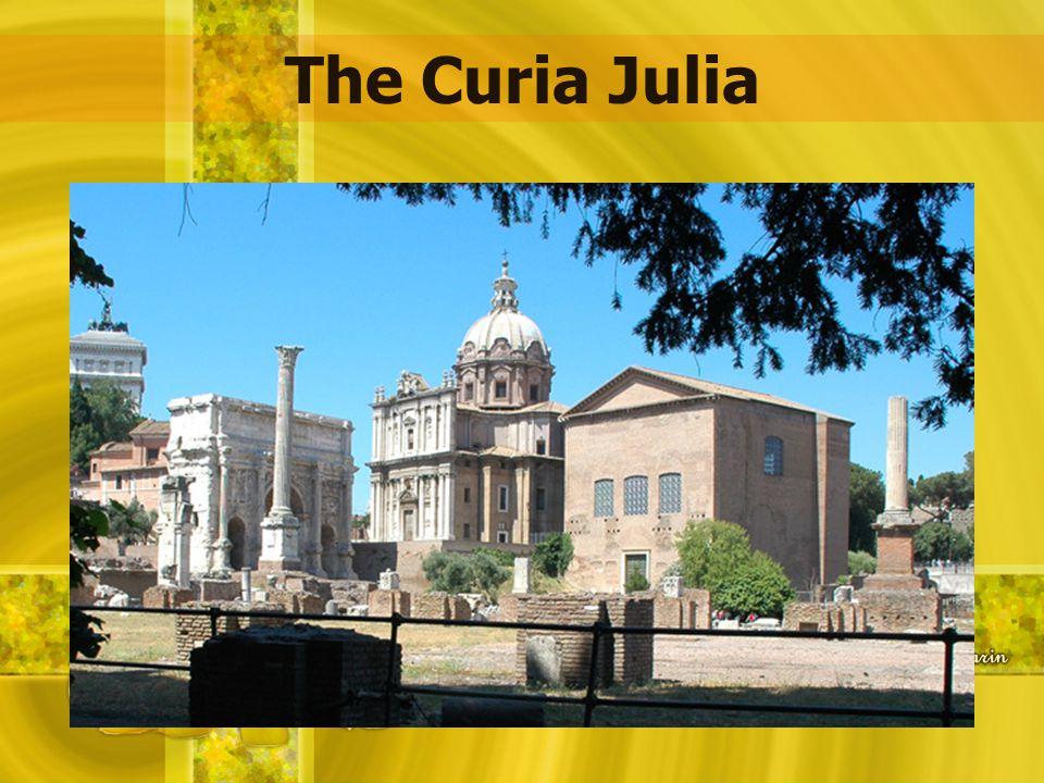 The Curia Julia