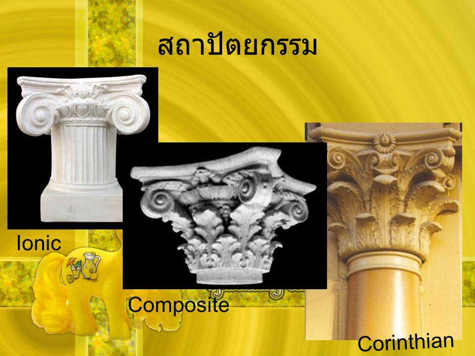สถาปัตยกรรม Corinthian Ionic Composite