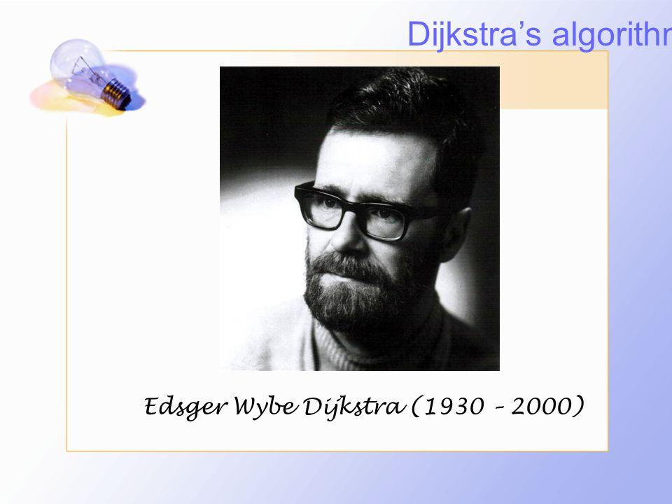 การประยุกต์ใช้ Dijkstra's Algorithm เป็นขั้นตอนวิธีที่ใช้ใน การหาเส้นทางที่สั้นที่สุด ที่ใช้เวลาในการค้นหา เส้นทางที่สั้นที่สุดน้อย และมีขั้นตอนวิธีที่ไม่ยุ่งยาก ซับซ้อนมากจนเกินไป และเราสามารถเอา dijkstra's algorithm มาประยุกต์ใช้ในงานต่างๆได้ ไม่ว่าจะเป็นการค้นหาเส้นทางที่สั้นที่สุดบนแผนที่ หรือไปประยุกต์ใช้ในงานทางด้าน network และ ปัญหาการเดินทางของพนักงานขาย (saleman problem) ได้เป็นต้น Dijkstra's algorithm