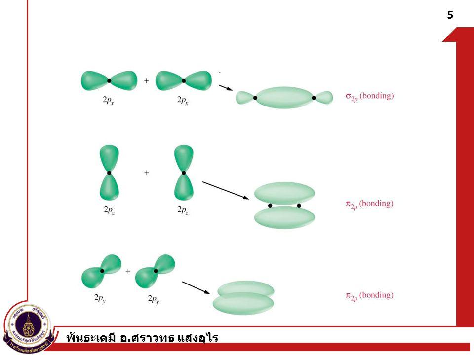 พันธะเคมี อ. ศราวุทธ แสงอุไร 5