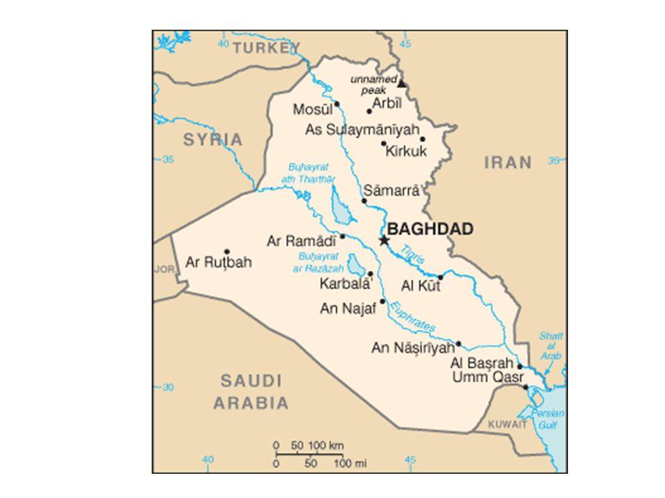 อิรักมีหนี้สินที่กู้ยืมมาจาก ต่างประเทศมากโดยเฉพาะ ประเทศซาอุดีอาราเบียและคูเวตมี จำนวนเงินรวมกันประมาณ 80,000 ล้านบาท