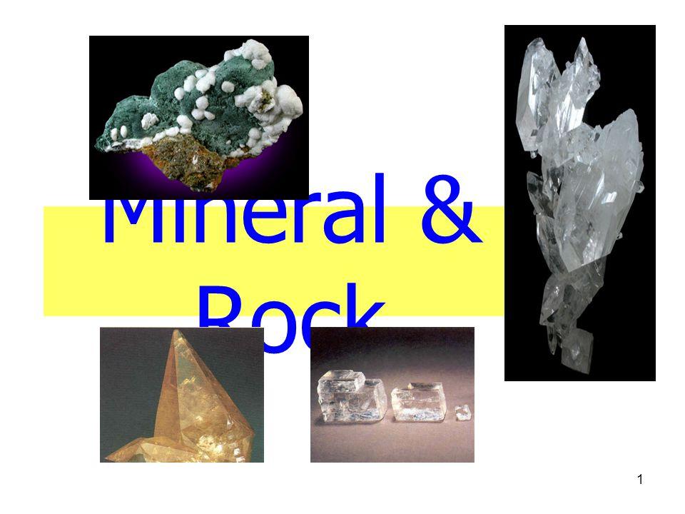 1 Mineral & Rock
