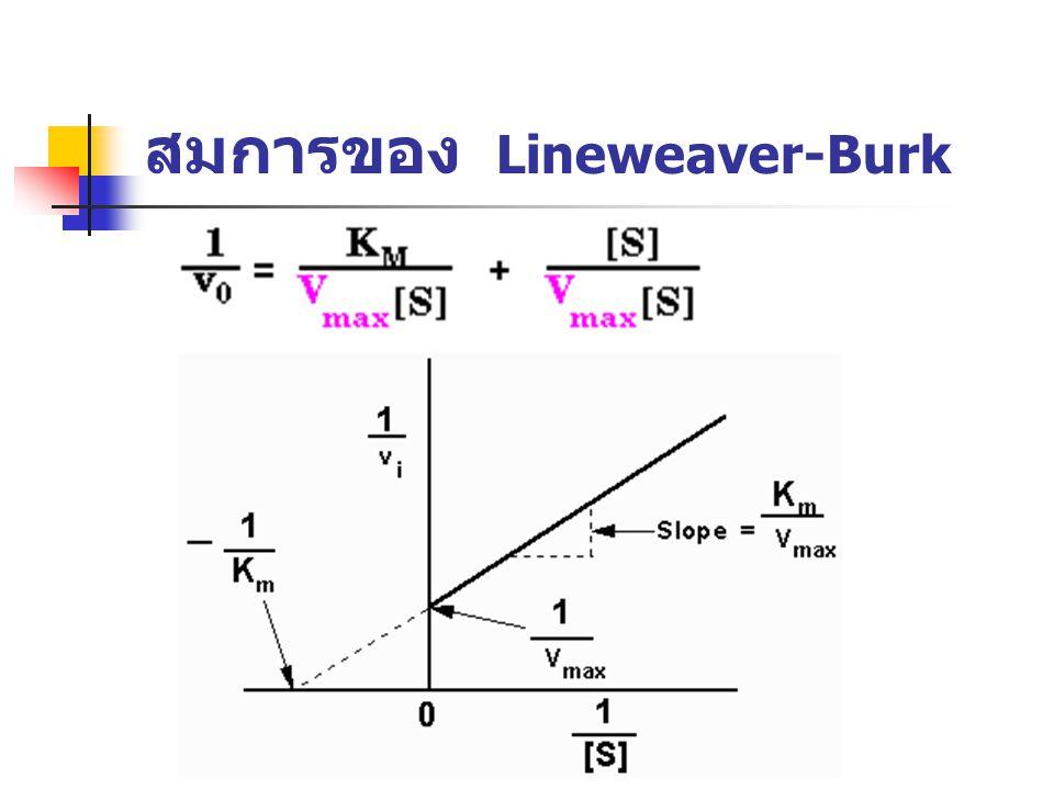 สมการของ Lineweaver-Burk