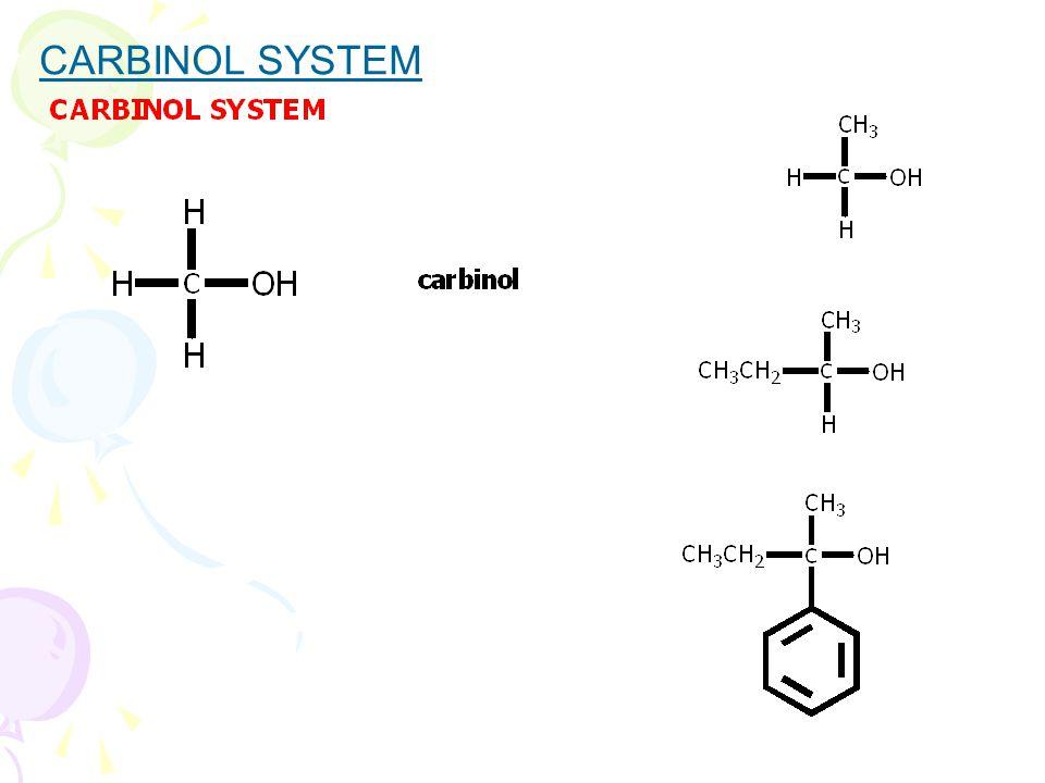 CARBINOL SYSTEM