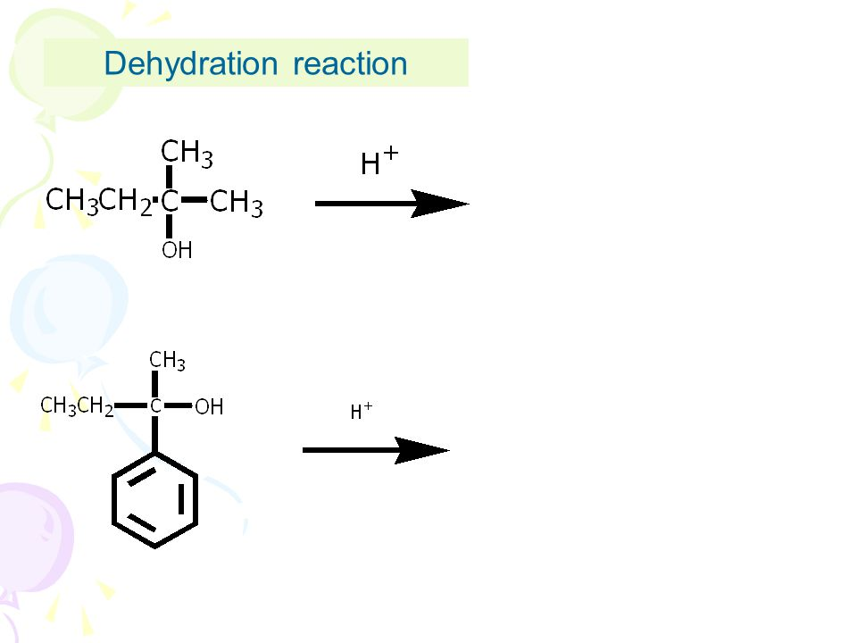 Dehydration reaction