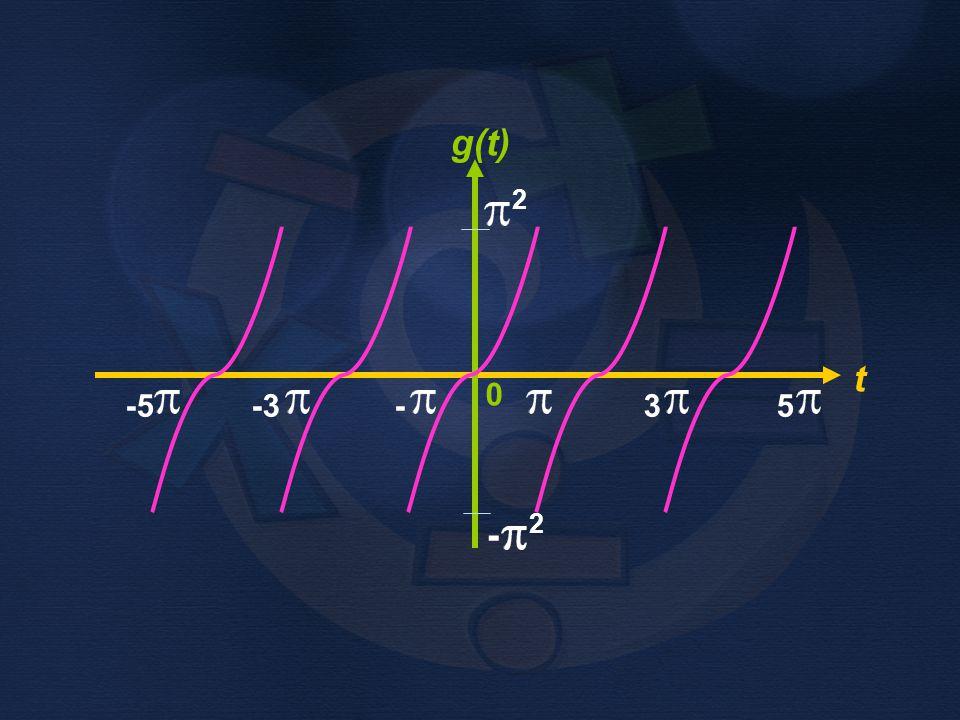 g(t) t 0 - 2 2 -5 -3 - 3 5