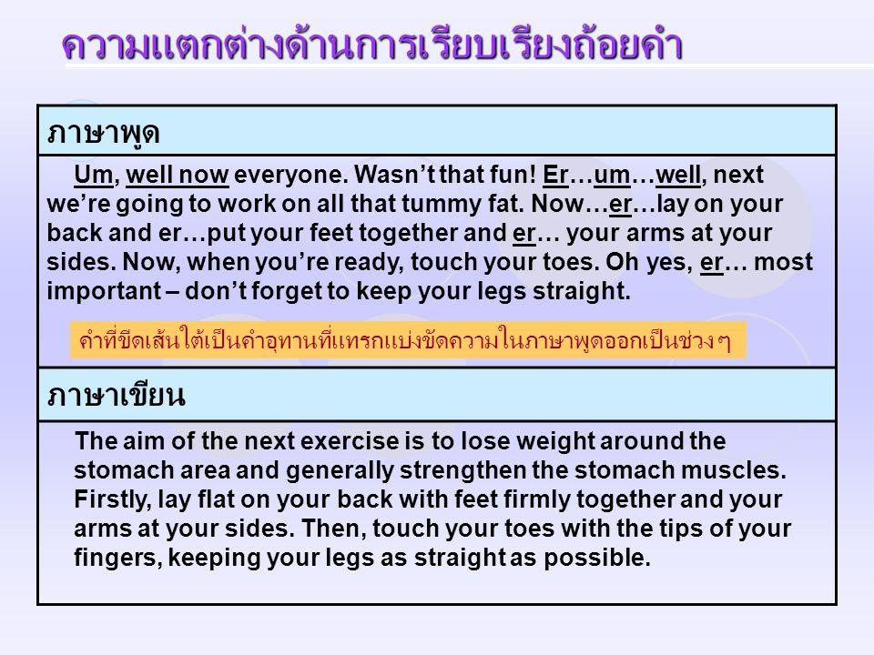 ภาษาพูด Pattaya is a fun kind of place; it has a little bit of something for everybody.