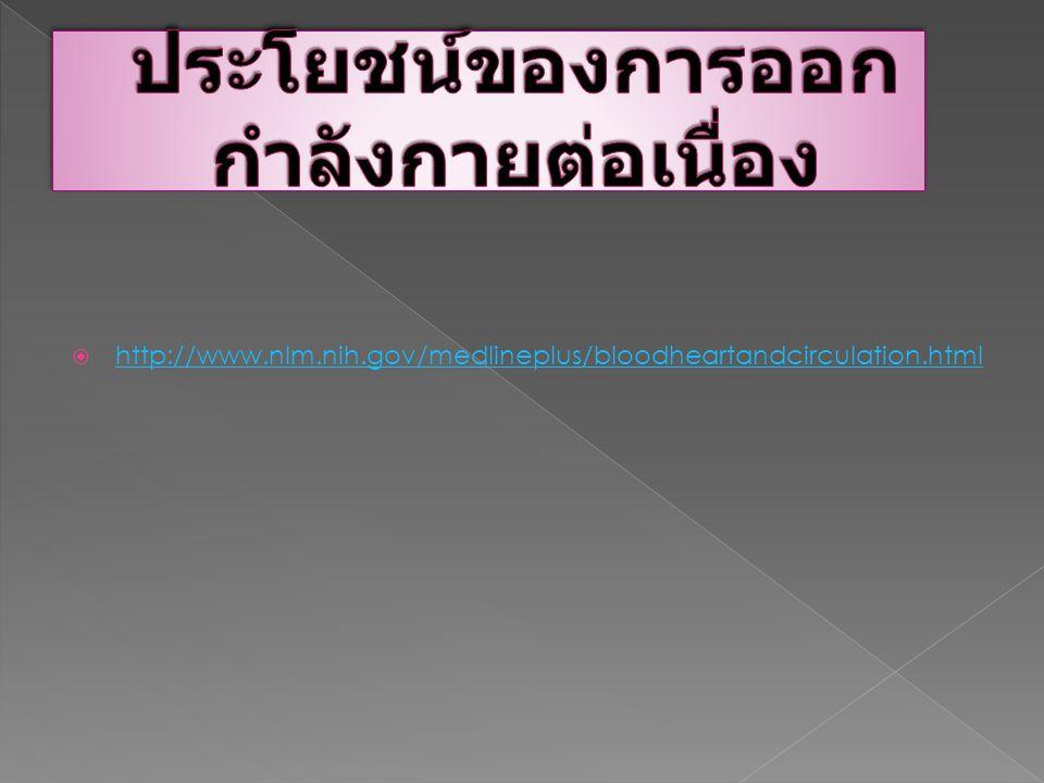  http://www.nlm.nih.gov/medlineplus/bloodheartandcirculation.html http://www.nlm.nih.gov/medlineplus/bloodheartandcirculation.html