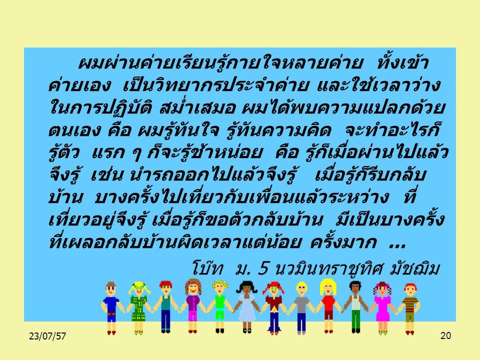 23/07/5719 เมื่อก่อนพ่อกับแม่ทะเลาะกันบ่อยมาก ๆ พ่อกินเหล้า ไม่ทำงาน แถมยังมาขอเงินแม่ไปกินเหล้ากับเพื่อนอีก แม่ หาเลี้ยงครอบครัวเพียงคนเดียว... แม่เค