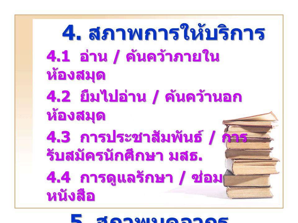 4.สภาพการให้บริการ 4.