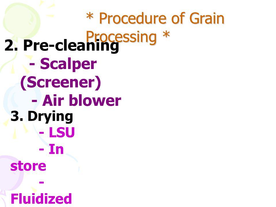 Grain Processin g Grain Processing 1 4.