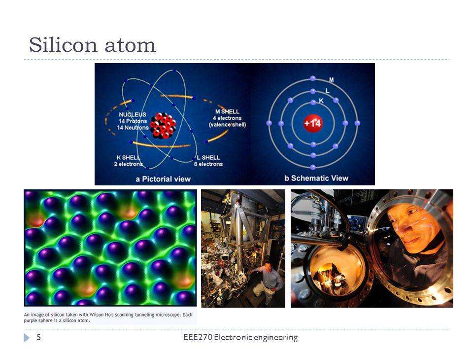Silicon atom EEE270 Electronic engineering5