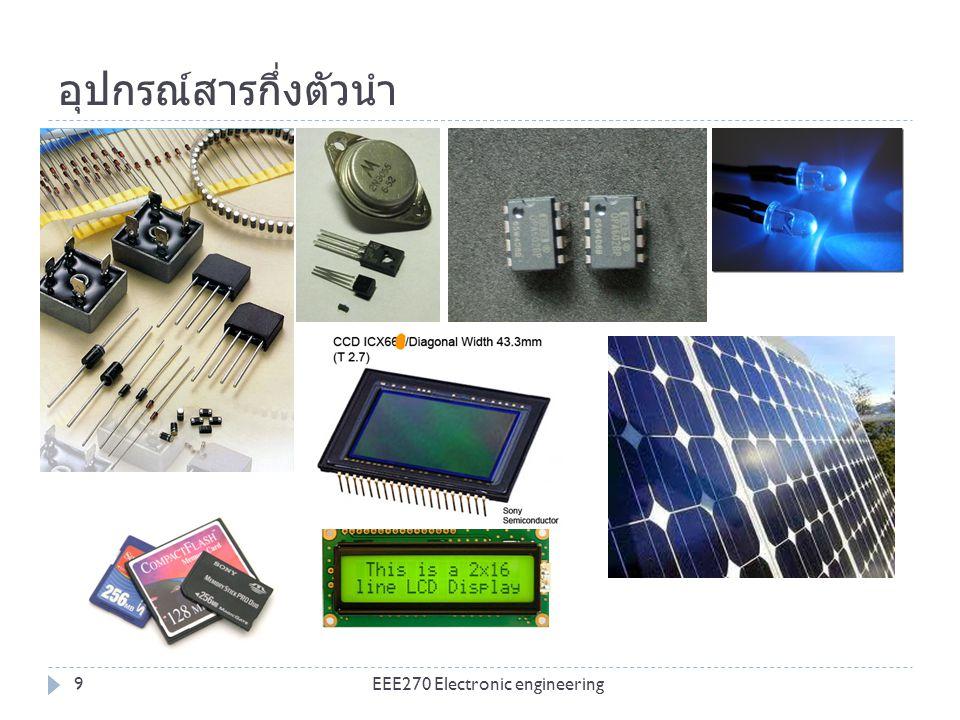 อุปกรณ์สารกึ่งตัวนำ EEE270 Electronic engineering9