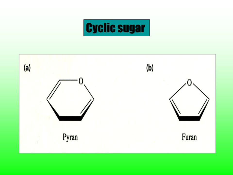 Cyclic sugar