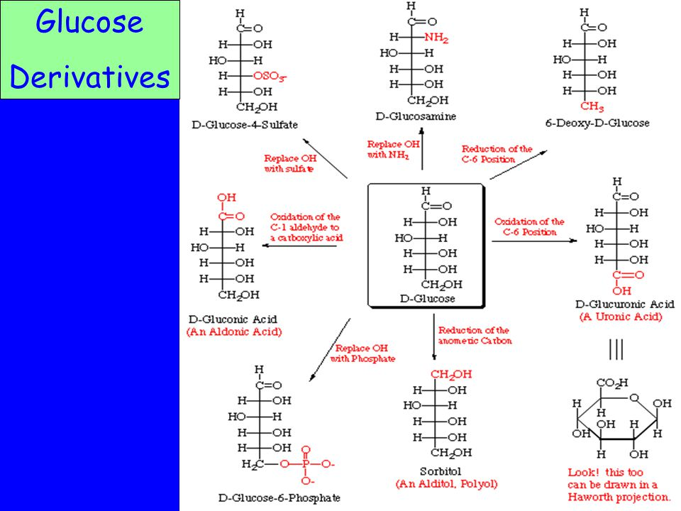 Glucose Derivatives