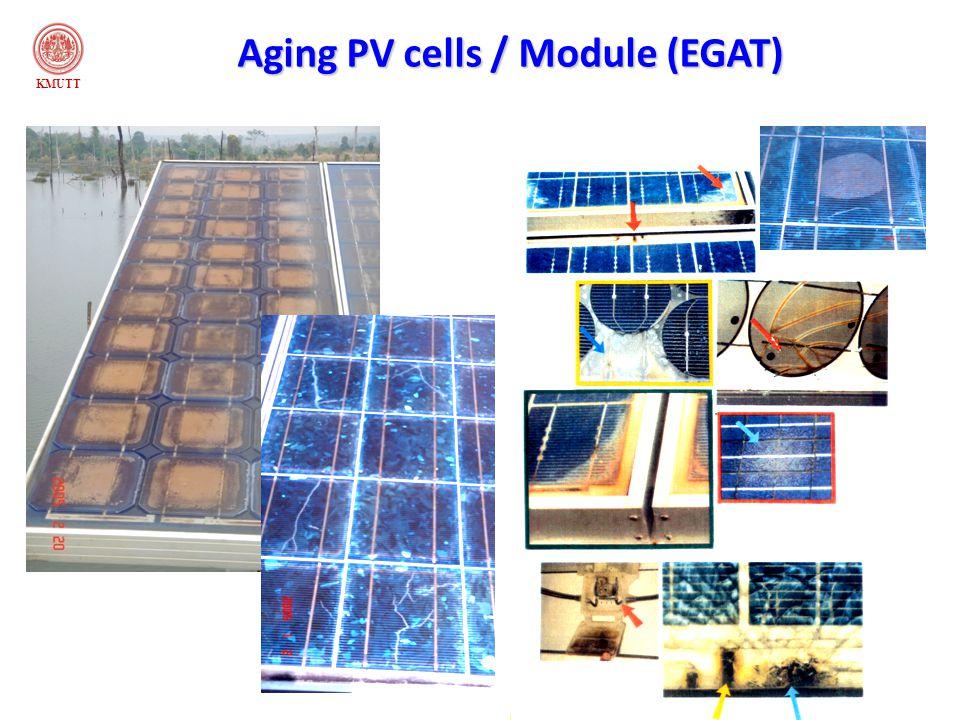 KMUTT Aging PV cells / Module (EGAT)