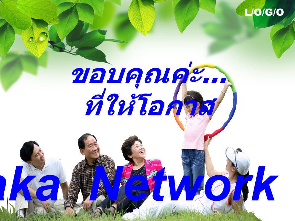 L/O/G/O ขอบคุณค่ะ... ที่ให้โอกาส Thamaka Network