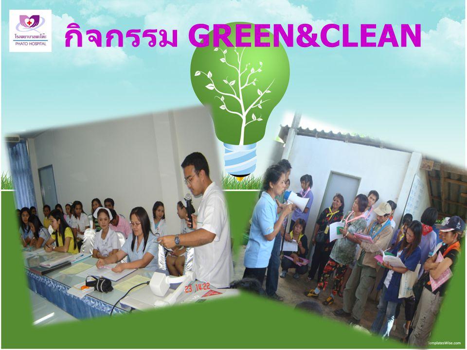 กิจกรรม GREEN&CLEAN