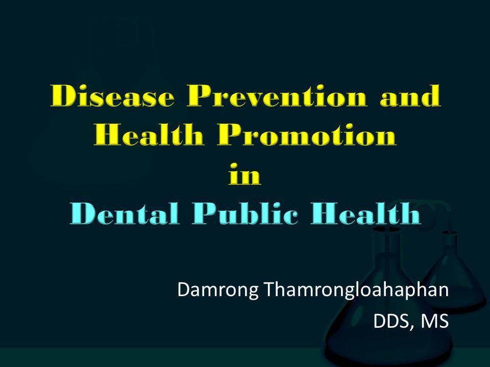 Damrong Thamrongloahaphan DDS, MS