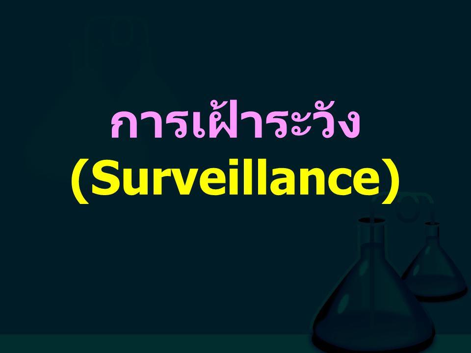 การเฝ้าระวัง (Surveillance)