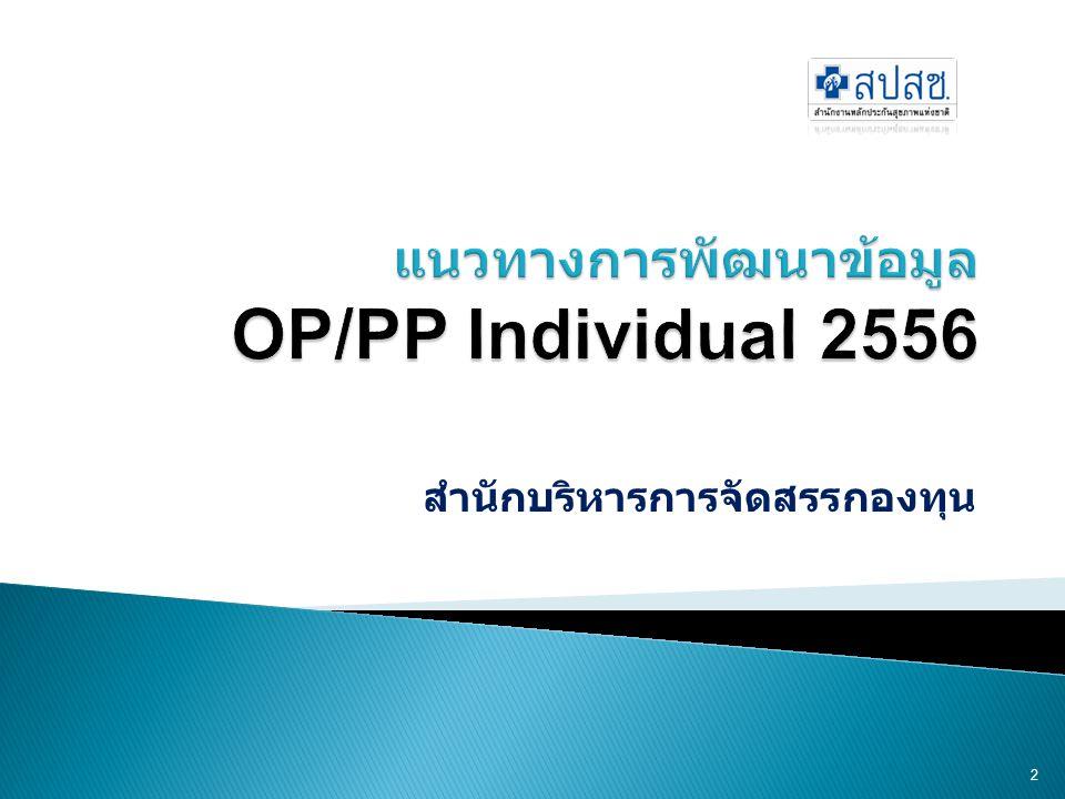  มาตรฐานแฟ้มข้อมูล ปี 2555  มาตรฐานแฟ้มข้อมูล ปี 2556  รูปแบบการส่งข้อมูล 3