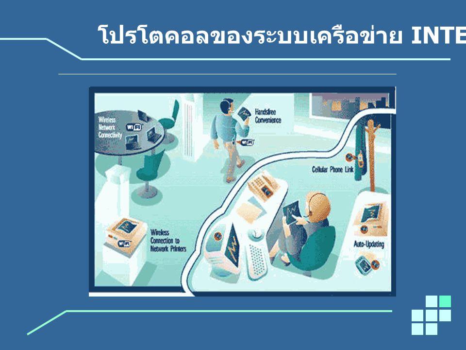 โปรโตคอลของระบบเครือข่าย INTERNET
