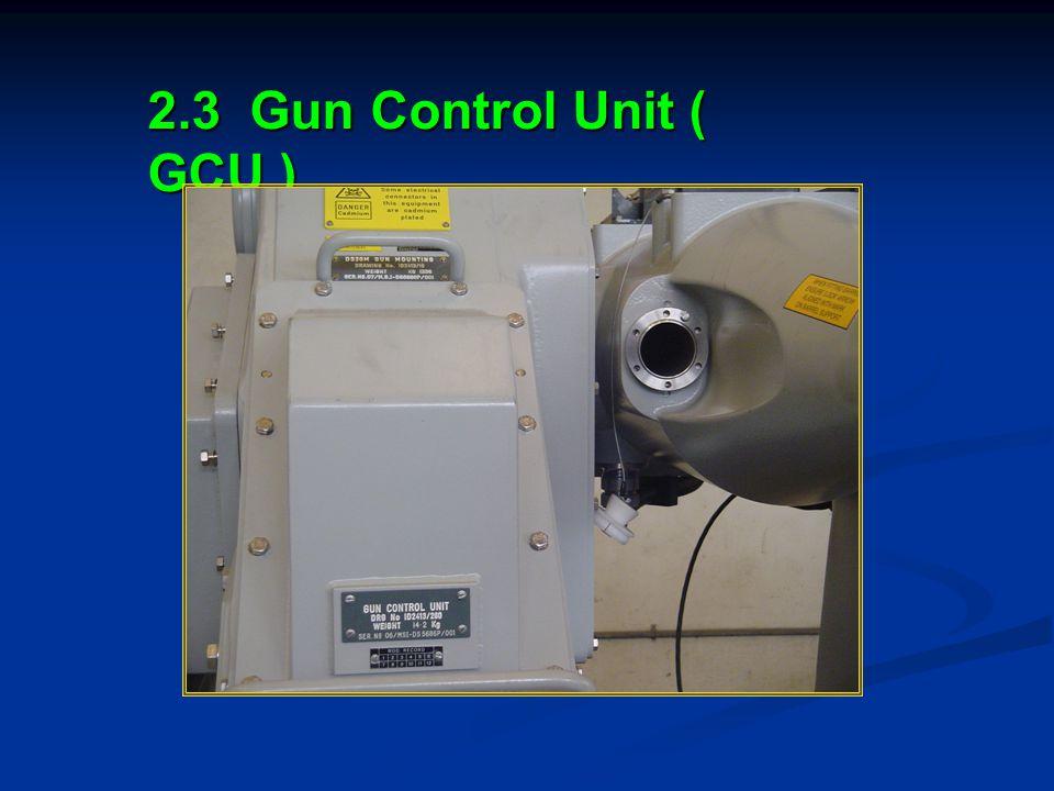 2.3 Gun Control Unit ( GCU )