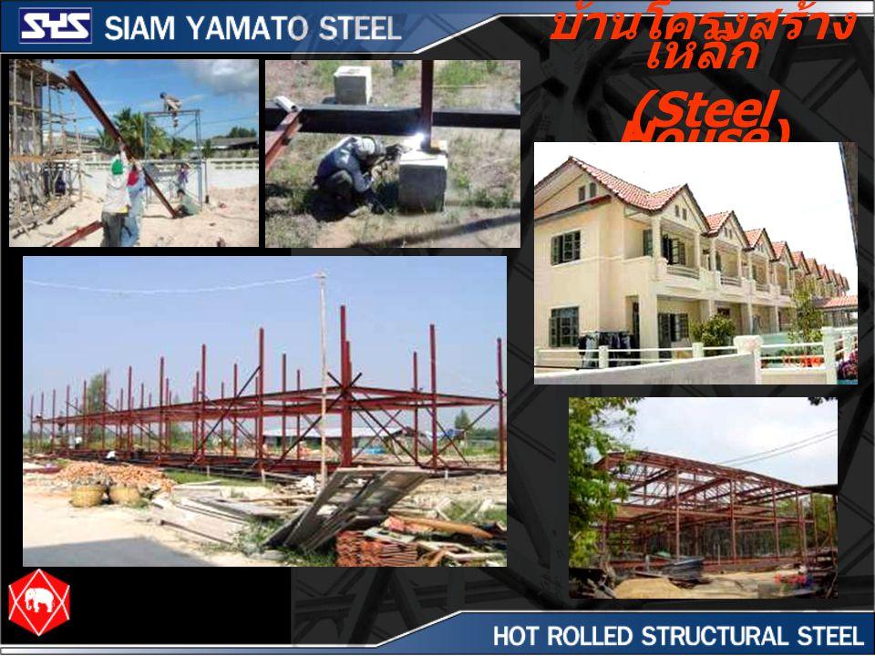 บ้านโครงสร้าง เหล็ก (Steel House)