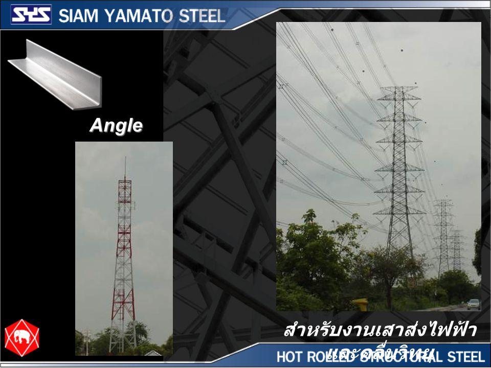 Angle สำหรับงานเสาส่งไฟฟ้า และคลื่นวิทยุ