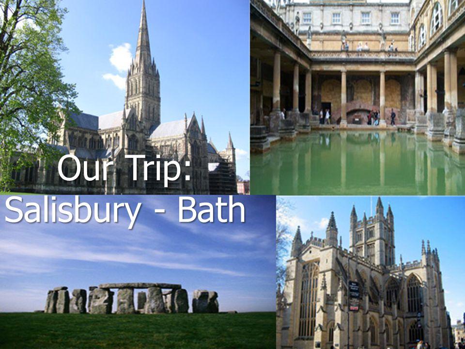 Our Trip: Salisbury - Bath