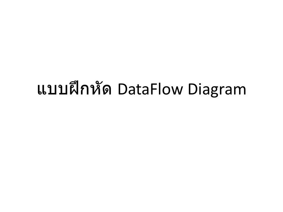 DFD Fragment 5 พิมพ์รายงาน