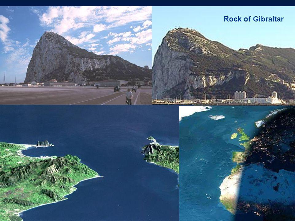 Strait of Gibraltar Rock of Gibraltar