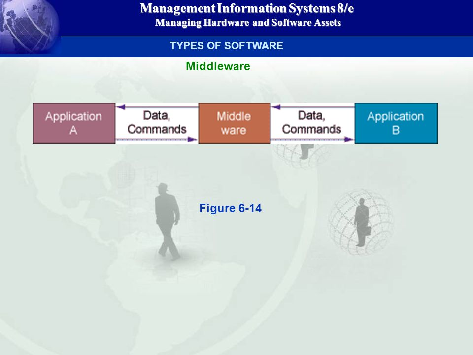 Management Information Systems 8/e Managing Hardware and Software Assets Managing Hardware and Software Assets TYPES OF SOFTWARE Middleware Figure 6-14