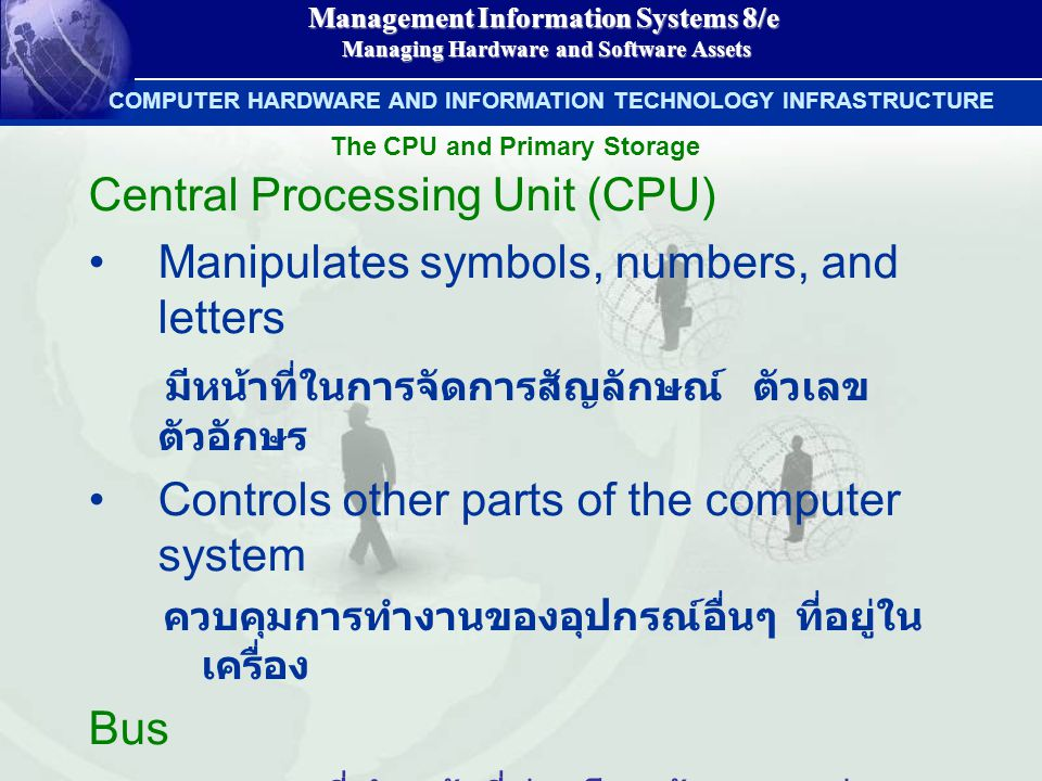 Management Information Systems 8/e Managing Hardware and Software Assets Managing Hardware and Software Assets COMPUTER HARDWARE AND INFORMATION TECHN