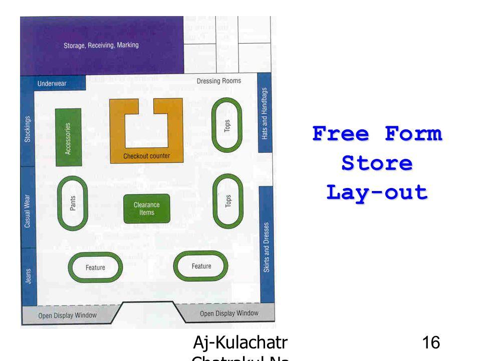 Aj-Kulachatr Chatrakul Na Ayudhaya Ch-4 16 Free Form Store Lay-out