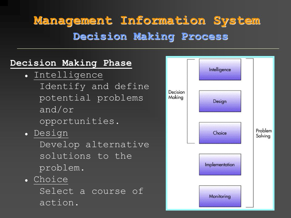 Management Information System DSS : Management Information System DSS : Optimizing Routine - Solver in Excel
