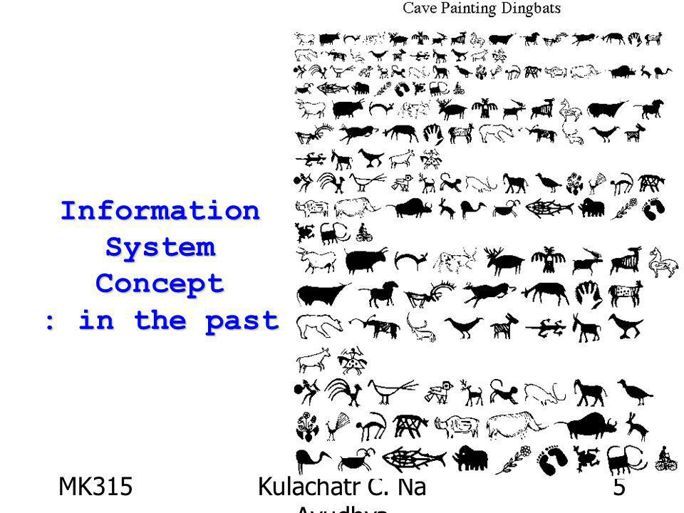 MK315Kulachatr C. Na Ayudhya 5 Information System Concept : in the past
