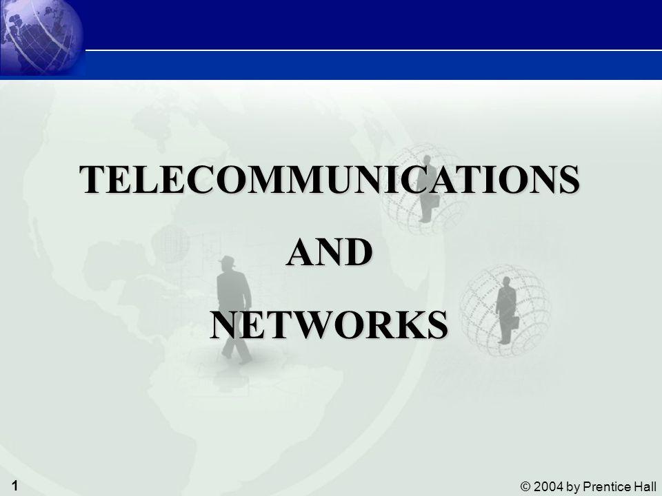 2 © 2004 by Prentice Hall Management Information Systems Telecommunications and Networks สามารถอธิบายองค์ประกอบพื้นฐานของโทรคมนาคม สามารถอธิบายองค์ประกอบพื้นฐานของโทรคมนาคม ทราบเกี่ยวกับความจุของช่องสื่อสารโทรคมนาคมและประเมินค่าสื่อ สำหรับถ่ายทอดข้อมูล ทราบเกี่ยวกับความจุของช่องสื่อสารโทรคมนาคมและประเมินค่าสื่อ สำหรับถ่ายทอดข้อมูล เปรียบเทียบเครือข่ายโทรคมนาคมแบบต่างๆ เปรียบเทียบเครือข่ายโทรคมนาคมแบบต่างๆ ประเมินทางเลือกบริการบนระบบเครือข่าย ประเมินทางเลือกบริการบนระบบเครือข่าย ทราบเกี่ยวกับโปรแกรมประยุกต์โทรคมนาคมที่สนับสนุนการพาณิชย์ อีเล็กทรอนิกส์และการธุรกิจอีเล็กทรอนิกส์ ทราบเกี่ยวกับโปรแกรมประยุกต์โทรคมนาคมที่สนับสนุนการพาณิชย์ อีเล็กทรอนิกส์และการธุรกิจอีเล็กทรอนิกส์ OBJECTIVES