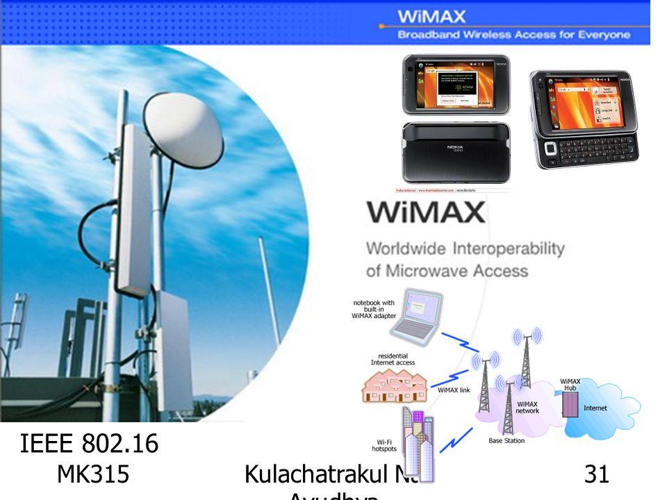 MK315Kulachatrakul Na Ayudhya 31 IEEE 802.16