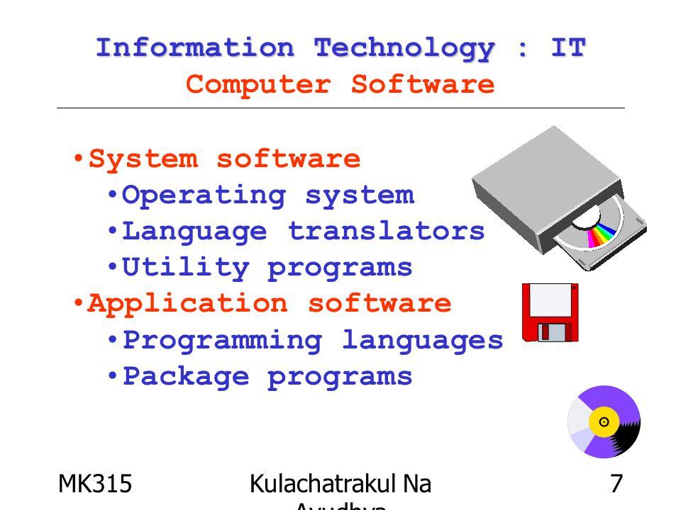 MK315Kulachatrakul Na Ayudhya 28 What is CDMA ? What is CDMA ? Code Division Multiple Access