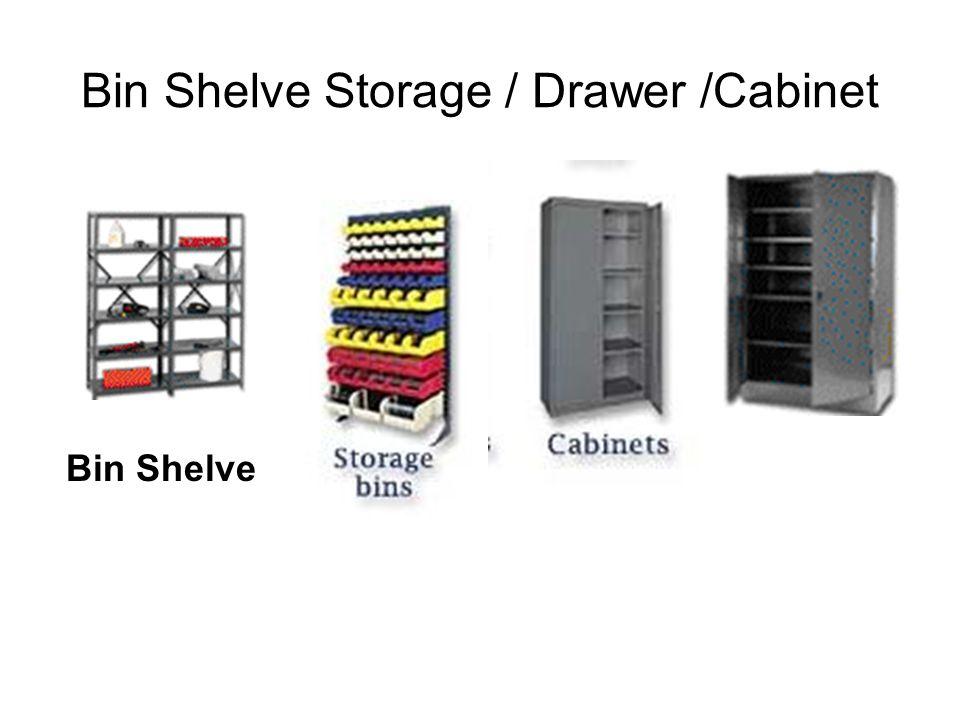 Bin Shelve Storage / Drawer /Cabinet Bin Shelve