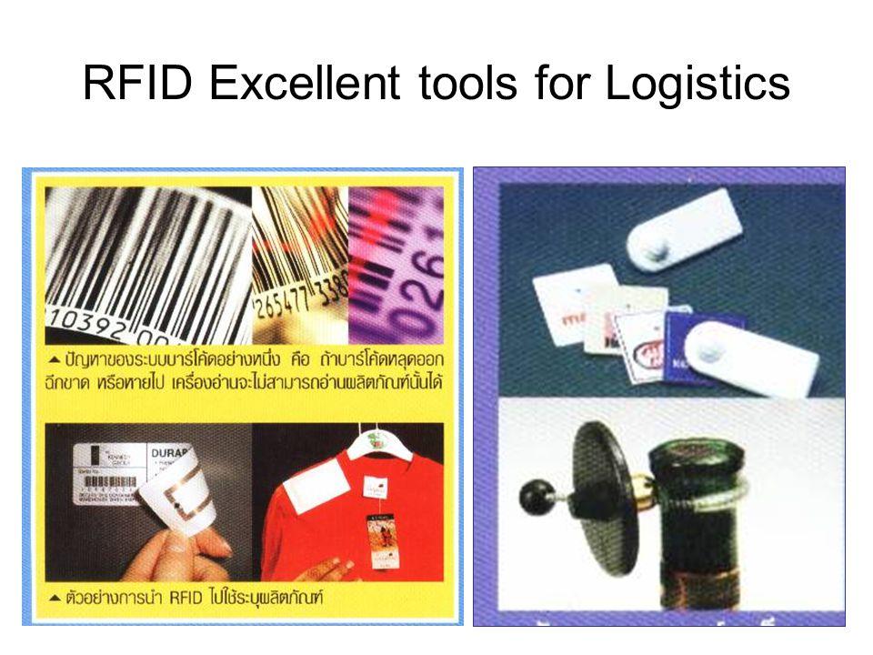 RFID Excellent tools for Logistics