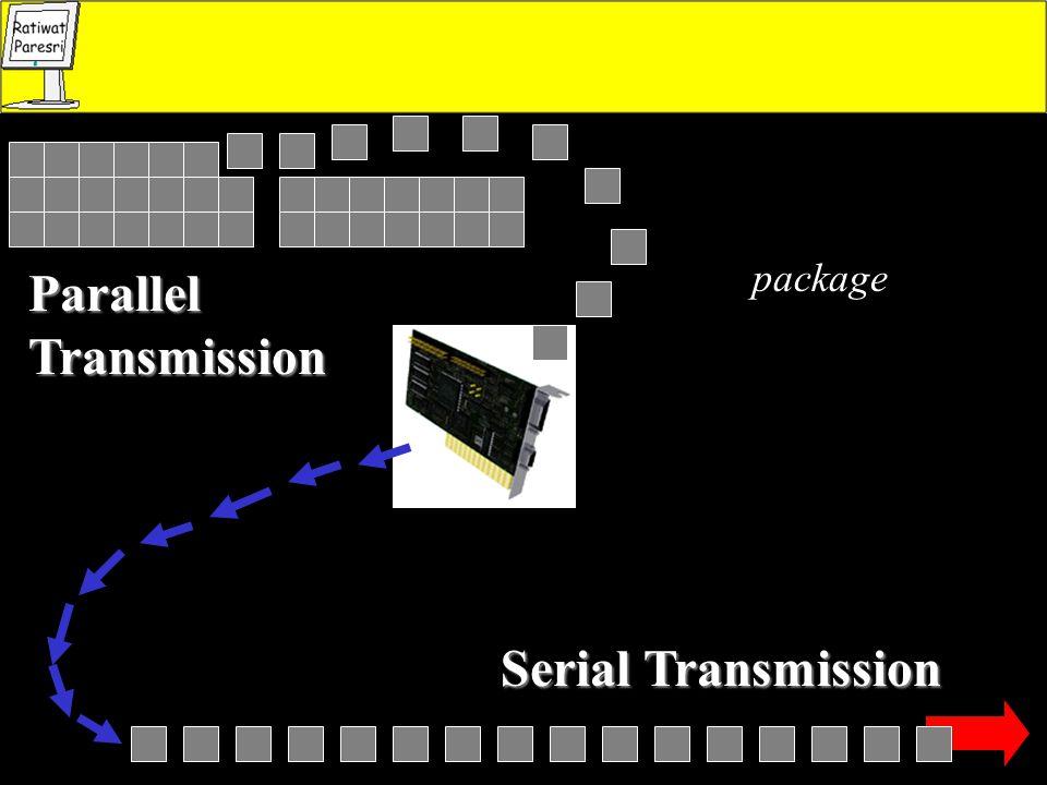 Parallel Transmission Serial Transmission package