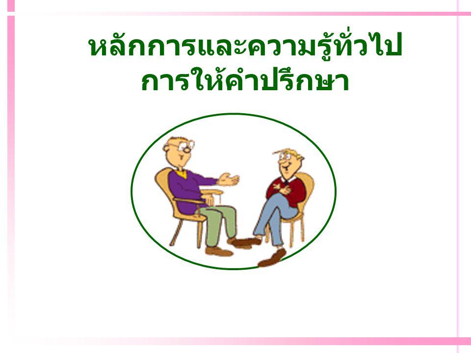 Relationship : สัมพันธภาพระหว่าง Co กับ Cl Cl รับรู้ว่า Co : เต็มใจฟัง / ช่วย เข้าใจความรู้สึกของเขา เก็บเรื่องราวของเขาไว้เป็น ความลับ ไม่ตัดสิน / ประเมิน / ตำหนิเขา ฯลฯ ยอมรับเขา